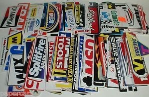 30 Grab Bag NASCAR Dirt Bike Race Car Go Kart Decal Stickers Boys Party Supply
