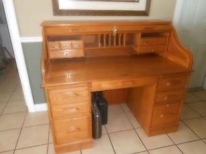 Oak Roll Top Desk Kits