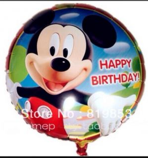 Disney Mickey Mouse Clubhouse Balloons Birthday Boys Party Supplies Helium Foil