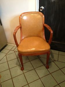 RMS Queen Mary First Class Dining Room Chair 1st Cunard SHIP Line