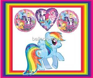 Balloon My Little Pony Rainbow Dash Birthday Party Decorations Supplies Gils XL
