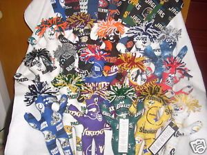 Dammit Doll Various Sports Fabrics Steelers Packers