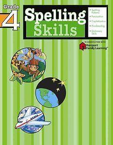New Spelling Skills Grade 4 by Flash Kids Editors Paperback Book English 1411403851
