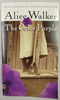 The Color Purple by Alice Walker Paperback Book