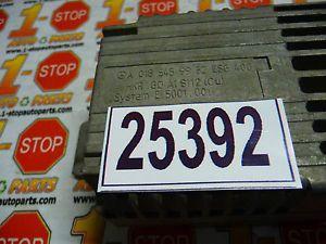 98 Mercedes SLK 230 Fan Relay Control Module A0185459932esg400