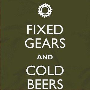 Mountain Biking Mtn Bike Fixed Gear Keep Calm Men's Womens T Shirt All Sizes