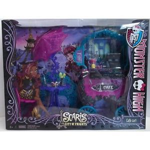 Monster High Scaris Cafe Cart