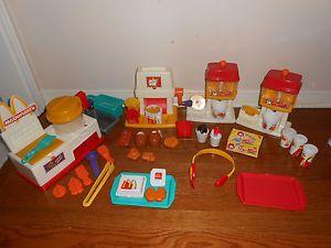 Fisher Price McDonalds Food