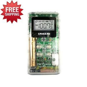 Sangean DT120CLEAR DT 120 Am FM Stereo Pocket Radio Radio Transmitters Rec