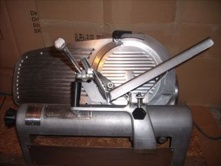 Commercial Hobart Meat Cheese Slicer Model 1612E