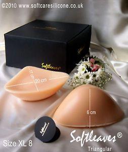 Silicone Breasts Breast Forms Bra XXXLarge 1711G