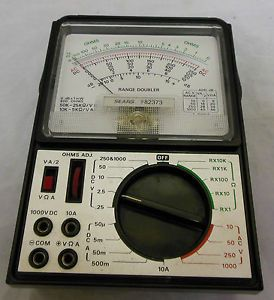 Roebuck and Company Ohm Meter Model Number 946082373 Electrical Tester