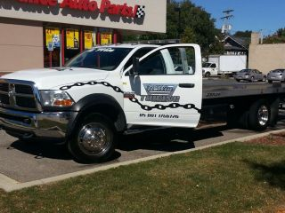 2011 Dodge RAM 5500 Rollback Flatbed Tow Truck