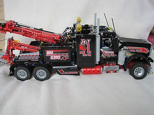 Lego Technic 8285 1 8285 2 Tow Truck Flatbed Truck