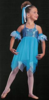 Heavenly Angel Fairy Pixie Lyrical Dance Costume CXS