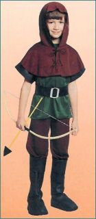 Renaissance Robin Hood Sherwood Forest Costume 4P