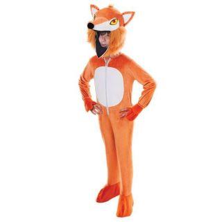 Kids Childrens Big Head Fantastic Mr Fox Fancy Dress Childs Costume 146cm
