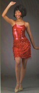 $30 00 Sale One Night Only Samba Sequin Fringe Dress Dance Costume Child Large