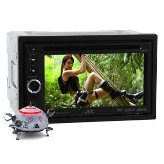 """New JVC KW AV61 in Dash 6 1"""" Touchscreen DVD  USB Car Stereo Receiver W"""