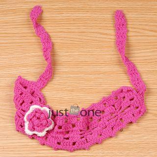 Cute Baby Toddlers Kids Girls Crochet Flower Hairband Hair Decoration Headband