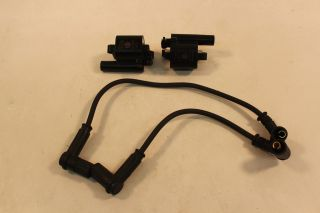 Ducati Monster 1100 ABS EVO 20th 2013 Ignition Coils Coil Spark Plug Boots Wires