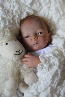 Francisco Reborn Doll Prototype Drew by Heather Boneham