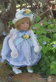 "New in Box Lee Middleton Artist Collection Alison 22"" Doll"
