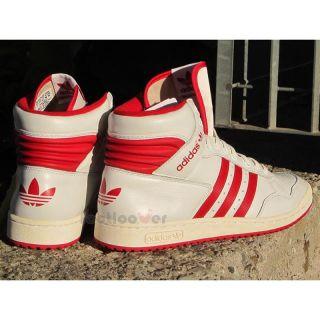 Adidas Shoes Pro Conference Hi G95976 Vintage Basket Men's White Casual Leather