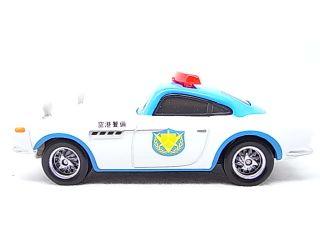 Disney Pixar Cars 2 Security Guard Finn McMissile in Hand