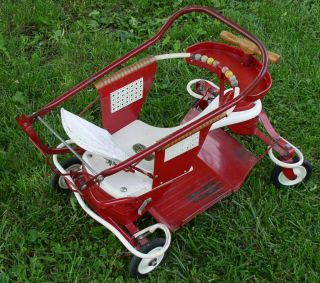 Mid Century Vintage Taylor Tot Baby Stroller in Original Used Condition