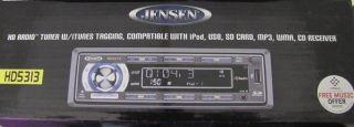 Jensen HD5313 CD  USB SD iPod HD Car Stereo Player