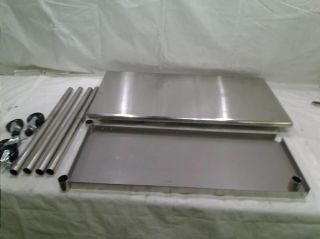 ... Trinity Ecostorage™ 48 In NSF Stainless Steel Prep Table With Wheels ...