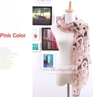 1pc Women Lady Girls Fashion Marilyn Monroe Long Soft Scarf Wrap Shawl 4 Colors