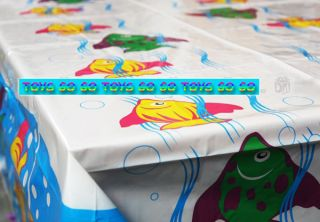 Tropical Fish Table Cloth Sea Animal Kid Party Favor Supply Decoration TAC004