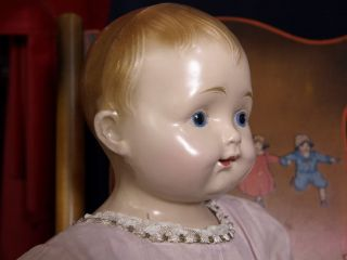 "RARE 23""Antique Effanbee Composition Baby Mama Doll Dolly Dumpling Orig Clothes"