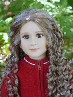New in Box My Twinn Doll Kira Dark Brown Eyes and Dark Blonde Hair