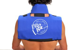 Scapula Cervical Neck Collar Ice Cold Pain Relief Wrap