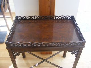 Chippendale Tea Table Drexel Furniture