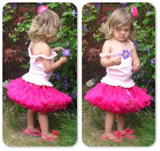 Baby Girl Kid Pettiskirt Tutu Skirt Dress Party Dance Costume Pageant Clothes