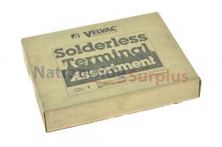 Velvac Solderless Terminal Kit Assortment Without Tool 056097