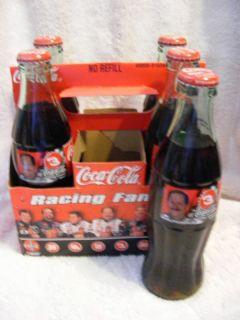 1999 Dale Earnhardt 3 Coca Cola Coke NASCAR Bottles