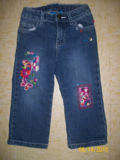 Huge Lot Girls Clothes Jeans Skirts Bottoms 24 Months