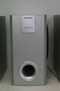 Panasonic SB W20 Subwoofer SB DK20 Speaker System