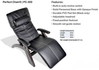 Human Touch The Perfect Chair Zero Gravity Power Electric Recline Recliner New