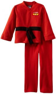 Child Lego TV Show Ninjago Red Kai Uniform Style Ninja Legos Costume Pajama Suit