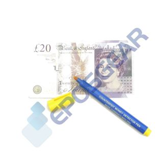 Counterfeit Fake Forged Money Bill Bank Note Checker Detector Tester Marker Pens