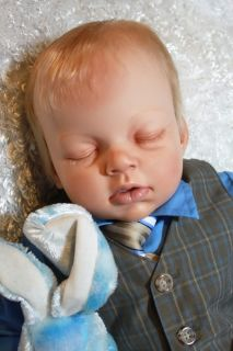 Custom Reborn Baby OOAK Sleeping Arianna Boy or Girl Reva Schick
