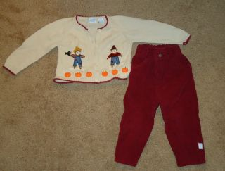 Toddler Kid Girls Winter Fall Back to School Lot 24 Months 2T Carters Lands End