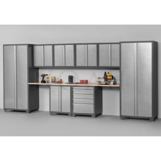 Newage Products 10 Piece Professional Series Workshop Garage Cabinetry –