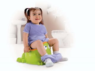 New Fisher Price Fun Baby Froggy Potty Toilet Training Chair Easy to Clean Seat